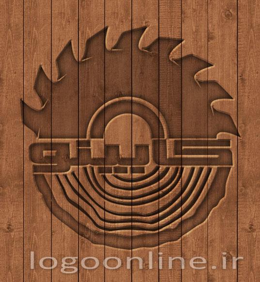 طراحی لوگو شرکت صنایع چوب کابینولوگو چوب ، لوگو چوبی ، لوگو صنایع چوبی ، آرم صنایع چوبی