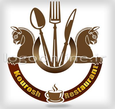 طراحی آرم و لوگوی آموزشگاه پارسهطراحی لوگو رستوران و کافی شاپ کورش