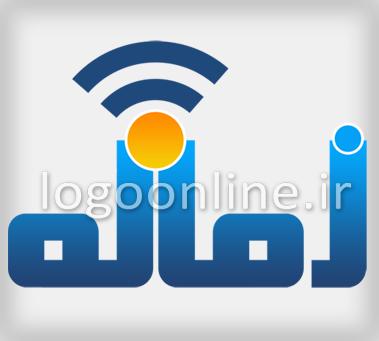 طراحی لوگوی سایتلوگو و آرم سایت خبری زمانه نیوز