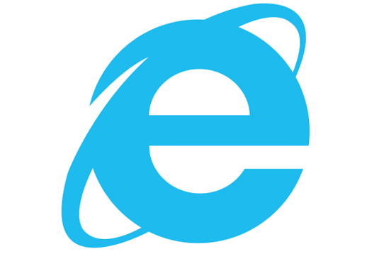 طراحی لوگو جدید اینترنت اکسپلوررلوگوی قدیم